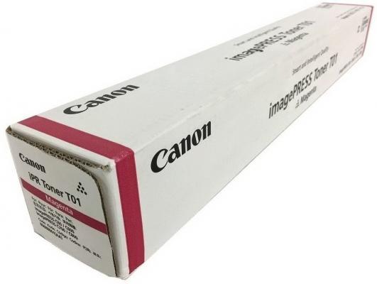 Фото - Тонер Canon T01 M 8068B001 пурпурный туба 1040гр. для копира IPC800 тонер туба sakura sa006r01046