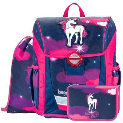 цена на Ранец светоотражающие материалы Step by Step BaggyMax Niffty Unicorn Dream 18 л фиолетовый розовый