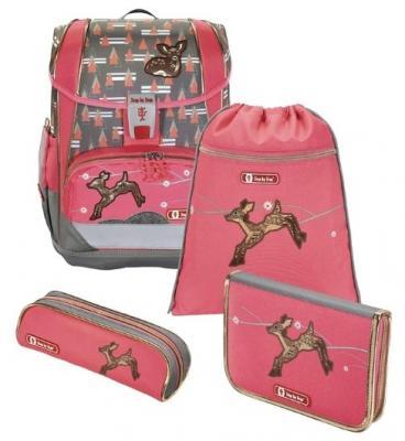 Ранец светоотражающие материалы Step by Step Light2 Modern Deer 18 л серый розовый цена и фото