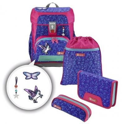 Купить Ранец светоотражающие материалы Step by Step Cloud Sparkling Pegasus 19 л синий розовый, розовый, синий, полиэстер, Школьные ранцы