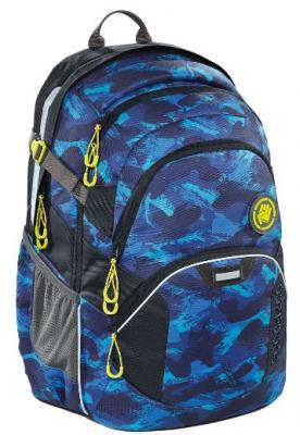 Рюкзак светоотражающие материалы Coocazoo Brush Camou 30 л синий черный