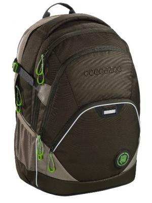 Рюкзак светоотражающие материалы Coocazoo EvverClevver2 Woodsman 30 л темно-зеленый цена и фото