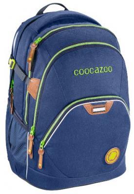 Рюкзак с отделением для ноутбука Coocazoo EvverClevver2 Denim blue 30 л темно-синий цена