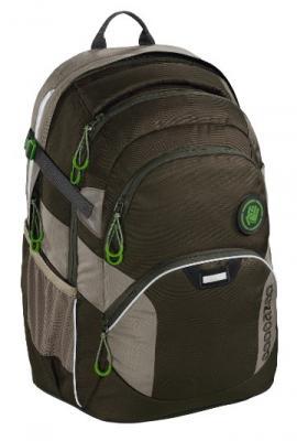 Рюкзак светоотражающие материалы Coocazoo JobJobber2 Woodsman 30 л темно-зеленый цена и фото