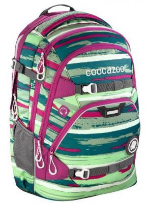 Рюкзак светоотражающие материалы Coocazoo ScaleRale Bartik 30 л зеленый розовый