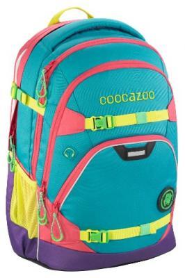 Рюкзак светоотражающие материалы Coocazoo ScaleRale Holiman 30 л голубой розовый