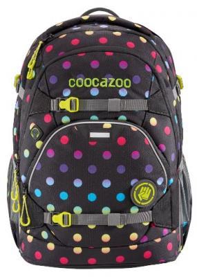 Купить Рюкзак светоотражающие материалы Coocazoo ScaleRale Magic Polka Colorful 30 л черный розовый, розовый, черный, полиэстер, Ранцы, рюкзаки и сумки