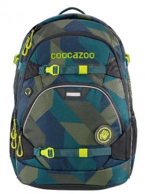 Рюкзак светоотражающие материалы Coocazoo ScaleRale Polygon Bricks 30 л темно-синий серый, серый, темно-синий, полиэстер, Ранцы, рюкзаки и сумки  - купить со скидкой