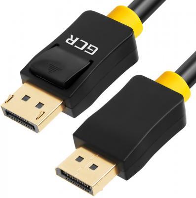 Фото - Кабель DisplayPort 10м Green Connection 33-050535 круглый черный кабель vga 1м green connection 33 050610 круглый черный