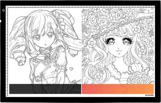 Картинка для Графический планшет Huion A4 USB