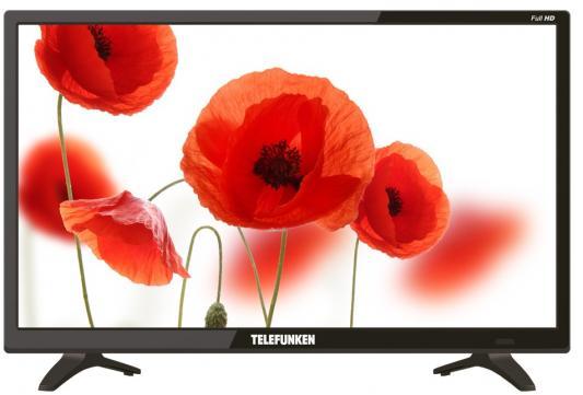 Телевизор Telefunken TF-LED22S53T2 черный цена и фото
