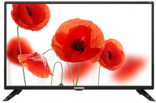 Телевизор Telefunken TF-LED32S90T2 черный цена и фото