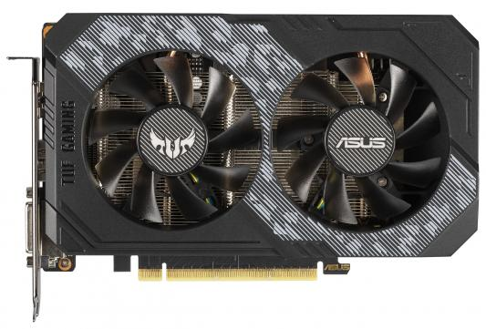 Видеокарта ASUS nVidia GeForce RTX 2060 TUF Gaming OC PCI-E 6144Mb GDDR6 192 Bit Retail (TUF-RTX2060-O6G-GAMING) цены онлайн