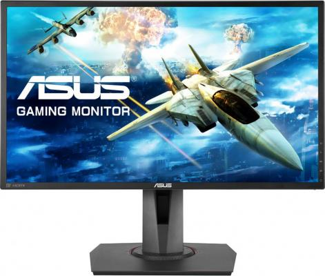 Монитор 24 ASUS MG248QR черный TN 1920x1080 350 cd/m^2 1 ms DVI HDMI DisplayPort из ремонта монитор 24 asus vs248hr tn led 1920x1080 1ms vga dvi hdmi