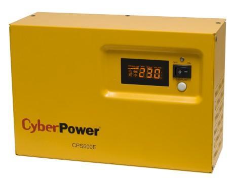 Фото - Источник бесперебойного питания CyberPower CPS600E 600VA Желтый Черный ибп cyberpower value600ei b 600va