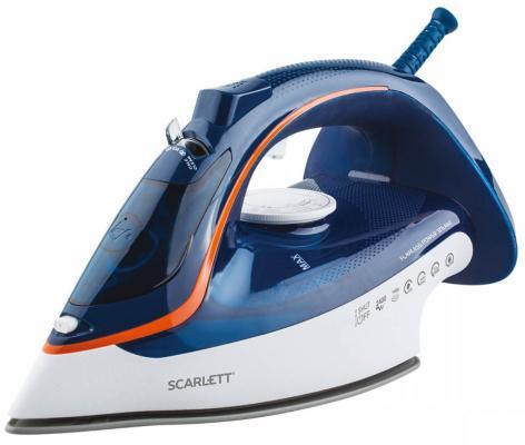 Утюг Scarlett SC-SI30K35 2400Вт синий утюг philips gc2998 80 чёрный 2400вт