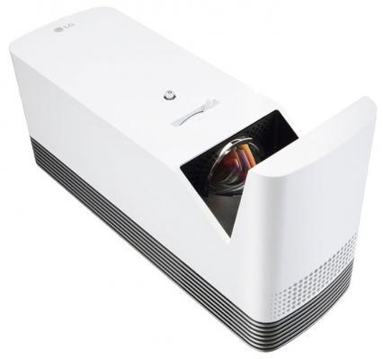 Проектор LG HF85LSR DLP 1500Lm (1920x1080) 150000:1 ресурс лампы:20000часов 2xUSB typeA 2xHDMI 3кг цена и фото