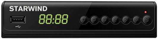 Фото - Ресивер DVB-T2 Starwind CT-280 черный ресивер dvb t2 starwind ct 100 черный