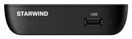 Фото - Ресивер DVB-T2 Starwind CT-160 черный ресивер dvb t2 starwind ct 100 черный