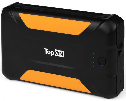 Внешний аккумулятор Power Bank 38000 мАч TopON TOP-X38 черный клавиатура topon gateway nx570 pn v030946bs1 top 100507 черный