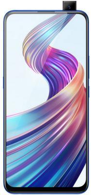 Смартфон Vivo V15 (Blue) MediaTek Helio P70 (2.1) / 6GB / 64GB / 6.53 2316x1080 IPS / 2Sim / 3G / 4G LTE / 12Mp + 8Mp + 5Mp, 32Mp / Android 8.1 смартфон impress lion dual cam 3g gold mediatek mt6580 1 3 1gb 8gb 5 1280x720 ips 2 sim 3g gps 8mp 5mp 5mp android 7 0 vln3gdc gld