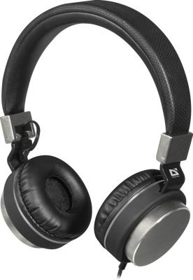Гарнитура Defender Accord 165 черный серый 63165