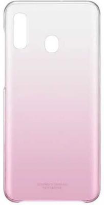 Чехол (клип-кейс) Samsung для Samsung Galaxy A20 Gradation Cover розовый (EF-AA205CPEGRU) samsung розовый