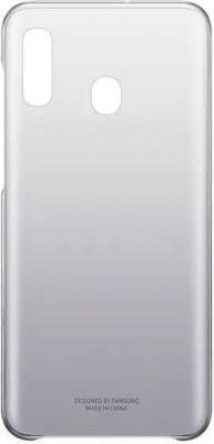 Чехол (клип-кейс) Samsung для Samsung Galaxy A20 Gradation Cover черный (EF-AA205CBEGRU)