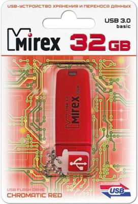Фото - Флешка 32Gb Mirex Chromatic USB 3.0 красный 13600-FM3СHR32 флешка mirex chromatic usb 3 0 32gb 32 гб красный