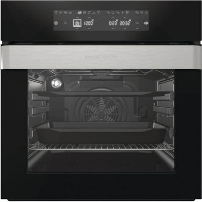 Электрический шкаф Gorenje BO758OR черный/нержавеющая сталь