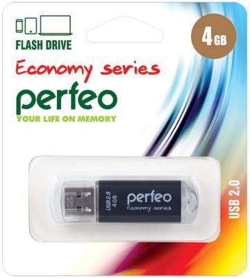 Фото - Флешка 4Gb Perfeo E01 USB 2.0 черный PF-E01B004ES флешка 8gb perfeo e01 usb 2 0 серебристый pf e01s008es