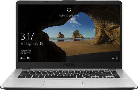 Ноутбук Asus VivoBook X505ZA-BQ737T Ryzen 3 2300U/6Gb/SSD128Gb/AMD Radeon Vega 6/15.6/FHD (1920x1080)/Windows 10/grey/WiFi/BT/Cam ноутбук hp 15 bs089ur core i7 7500u 6gb 1tb ssd128gb amd radeon 530 4gb 15 6 fhd 1920x1080 windows 10 red wifi bt cam