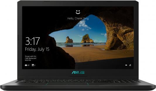 Ноутбук Asus VivoBook X570UD-E4383T Core i7 8550U/16Gb/1Tb/SSD256Gb/nVidia GeForce GTX 1050 2Gb/15.6/FHD (1920x1080)/Windows 10/black/WiFi/BT/Cam ноутбук asus k541uv dm1488t core i3 7100u 6gb 1tb nvidia geforce 920mx 2gb 15 6 fhd 1920x1080 windows 10 black wifi bt cam