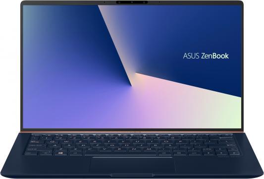 """Ноутбук Asus Zenbook UX333FA-A3071T Core i5 8265U/8Gb/SSD256Gb/Intel UHD Graphics 620/13.3""""/FHD (1920x1080)/Windows 10/dk.blue/WiFi/BT/Cam/Bag цена в Москве и Питере"""