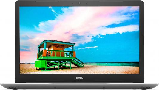 Ноутбук Dell Inspiron 3780 Core i5 8265U/8Gb/1Tb/SSD128Gb/DVD-RW/AMD Radeon 520 2Gb/17.3/IPS/FHD (1920x1080)/Linux/silver/WiFi/BT/Cam