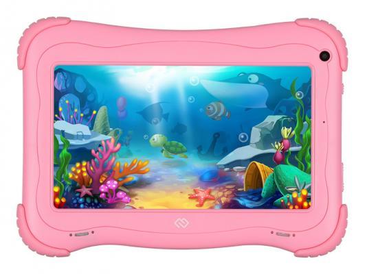 Планшет Digma Optima Kids 7 7 16Gb Pink Wi-Fi Bluetooth Android TS7203RW планшет 3q 7 характеристики