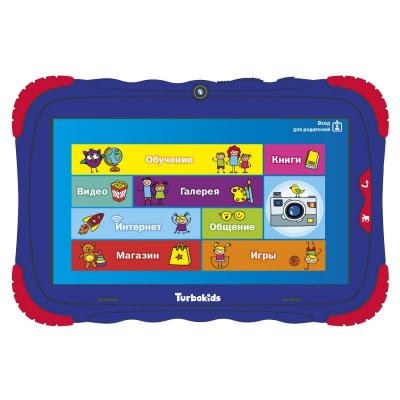 цена на Планшет Turbo TurboKids S5 7 16Gb Blue Wi-Fi Bluetooth Android РТ00020506