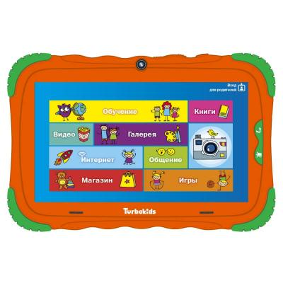 Планшет Turbo TurboKids S5 7 16Gb Orange Wi-Fi Bluetooth Android РТ00020505 планшет