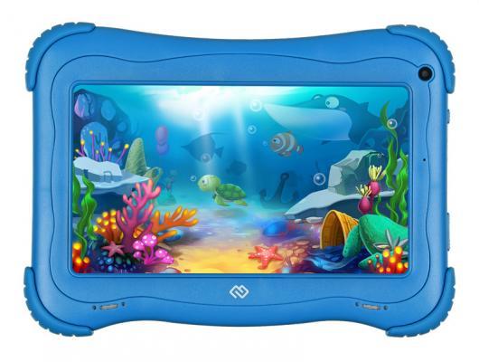 Планшет Digma Optima Kids 7 7 16Gb Blue Wi-Fi Bluetooth Android TS7203RW планшет 3q 7 характеристики