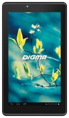 "Планшет Digma Plane 7580S 4G 7"" 16Gb Black Wi-Fi 3G Bluetooth LTE Android PS7192PL планшет bq 1056l exion sc9832 1gb 16gb 10 1 ips wxga wi fi bt 3g 4g lte 5 2mpx android 7 black"