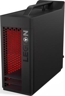 ПК Lenovo Legion T530-28APR MT Ryzen 5 2600X (3.6)/16Gb/1Tb 7.2k/SSD256Gb/RX 570 4Gb/DVDRW/Windows 10/GbitEth/450W/черный системный блок lenovo legion t530 28icb 90jl007jrs черный