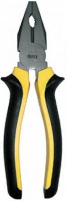 Плоскогубцы FIT 50628 стайл черно-желтая ручка молибденовое покрытие 200мм утконосы fit 50656 круглогубцы стайл черно желтая ручка молибденовое покрытие 165мм
