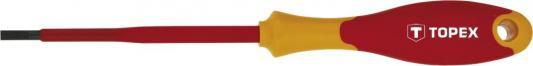 Отвертка шлицевая диэлектрическая TOPEX 39D472 нож topex 17b160