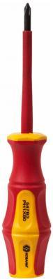 Отвертка КОБАЛЬТ 646-492 диэлектрическая Ultra Grip PH-1 х 80мм CR-V, двухкомп.рукоятка 1шт подвес цены