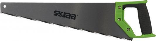 Ножовка SKRAB 20525 по дереву 400мм каленый зуб сталь SK5 цена