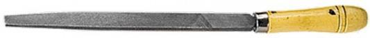 Фото - Напильник СИБРТЕХ 16232 300мм плоский деревянная ручка напильник курс 42510 набор 5шт деревянная ручка 150мм