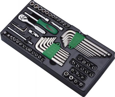 Набор инструментов HANS TT-22 ложемент насадки головки шестигранники 1/4 62шт цены