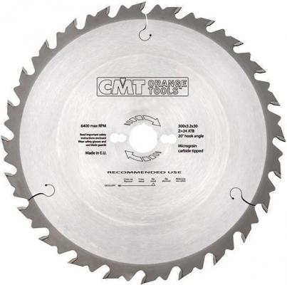 Круг пильный твердосплавный CMT 290.250.24M  250X30X2.8/1.8 20° 10° ATB Z=24