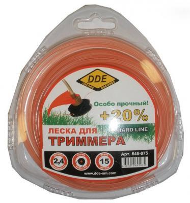 Леска для триммеров DDE 645-075 леска для триммеров bosch combi easy f016800176