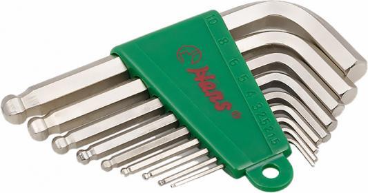Набор ключей HANS 16774-9M набор стандартных г-шестигранников размерностью 1.5.2 2.5.3 4.5 6.8 10м набор шестигранников арсенал нш10 гобразных